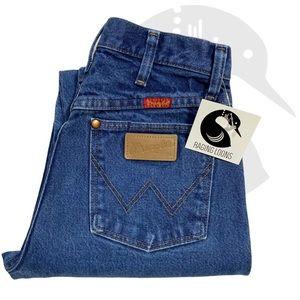 Vintage Wrangler High Rise Mom Jeans Wedgie
